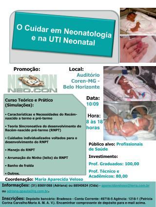 O Cuidar em Neonatologia e na UTI Neonatal