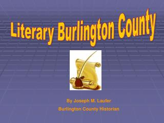 Literary Burlington County