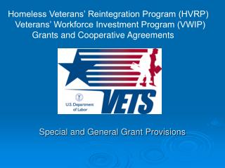 Special and General Grant Provisions