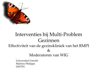 Universiteit Utrecht Marloes Philippa 0367591