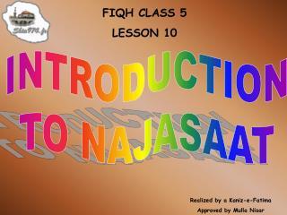 FIQH CLASS 5 LE SSON 10