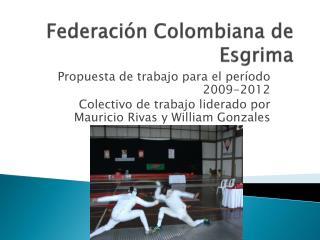 Federación Colombiana de Esgrima