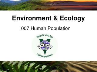 007 Human Population