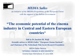 MEDIA Salles an initiative of the MEDIA Programme of the ...
