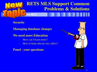 RETS MLS Support Common Problems & Solutions