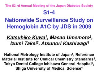 The 53 rd Annual Meeting of the Japan Diabetes Society