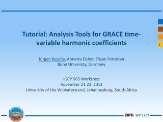 Analysis Tools