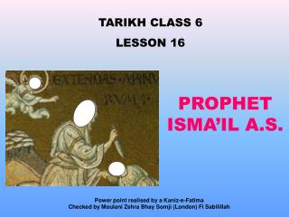 TARIKH CLASS 6 LE SSON 16