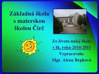 Základná škola s materskou školou Čirč