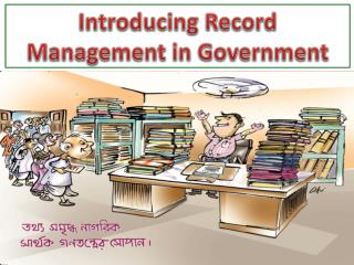 Introducing Record Management in Government
