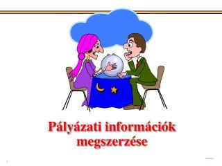 Pályázati információk megszerzése