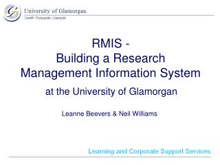 RMIS - Building a Research Management Information System