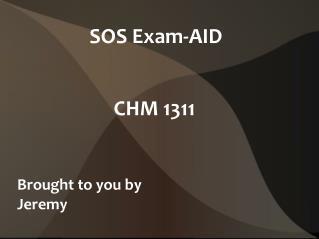 SOS Exam-AID