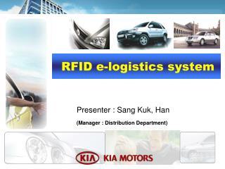 RFID e-logistics system