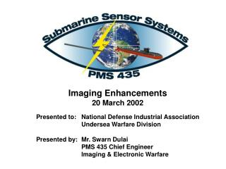 Imaging Enhancements  20 March 2002