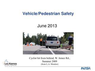 Vehicle/Pedestrian Safety