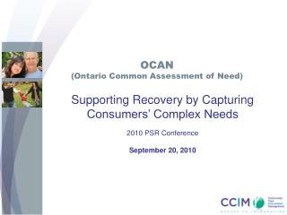 OCAN Ontario Common Assessment of Need