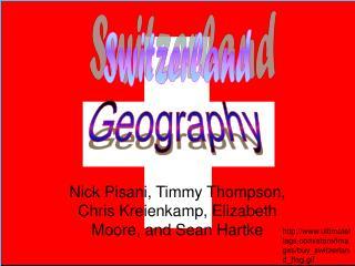 Nick Pisani, Timmy Thompson,  Chris Kreienkamp, Elizabeth Moore, and Sean Hartke