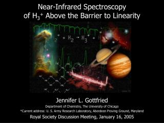 Near-Infrared Spectroscopy of H 3 +  Above the Barrier to Linearity