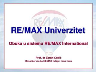 RE/MAX Univerzitet