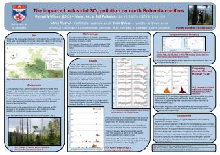 The impact of industrial SO 2  pollution on north Bohemia conifers
