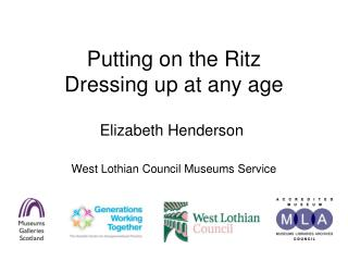 Putting on the Ritz Dressing up at any age
