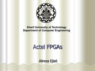 Actel FPGAs