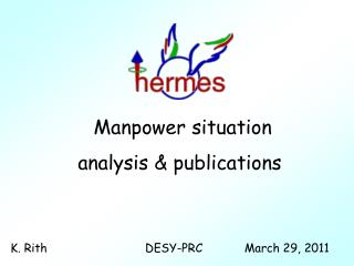 Manpower situation  analysis & publications