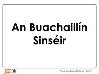 An Buachaillín Sinséir