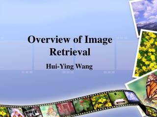 Overview of Image Retrieval