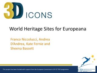 World Heritage Sites for Europeana