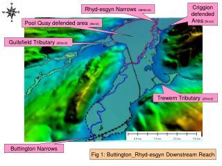 Fig 1: Buttington_Rhyd-esgyn Downstream Reach
