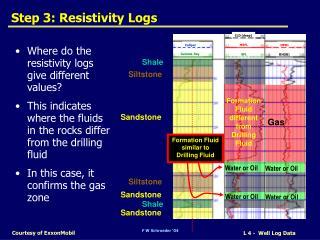 Step 3: Resistivity Logs