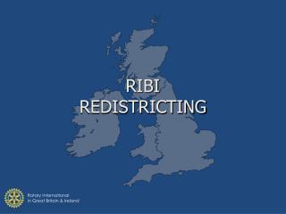 RIBI REDISTRICTING