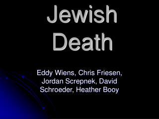 Jewish Death