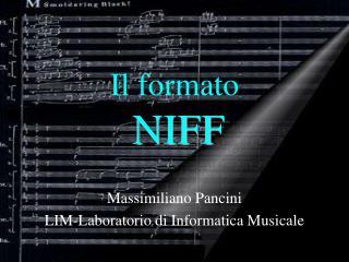 Il  formato NIFF