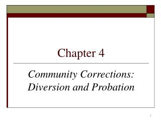 intermediate sanctions and community corrections Oklahoma department of corrections  intermediate sanctions for probation  corrective responses that influence the behavior of offenders in the community serve as.