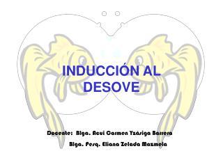 INDUCCIÓN AL DESOVE