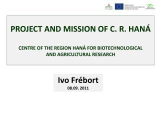 Ivo Frébort 08.09.  2011
