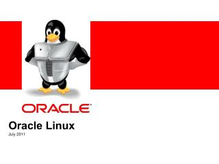 Oracle Linux July 2011