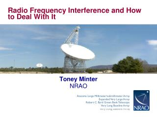 Radio Frequency Interference and How to Deal With It