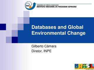 Databases  and  Global  Environmental Change