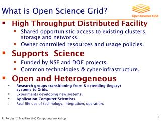 What is Open Science Grid?