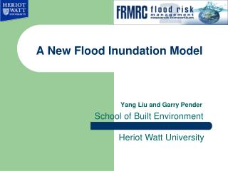 A New Flood Inundation Model
