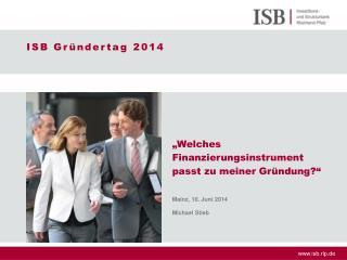 ISB Gründertag 2014