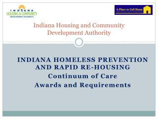 Indiana Housing and Community  Development Authority