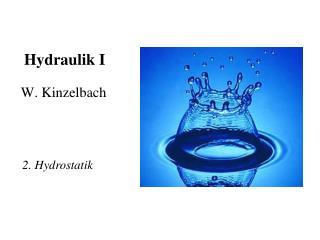 Hydraulik I