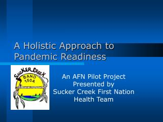 A Holistic Approach to Pandemic Readiness