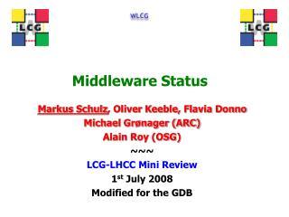 Middleware Status