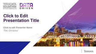 Click to Edit  Presentation Title
